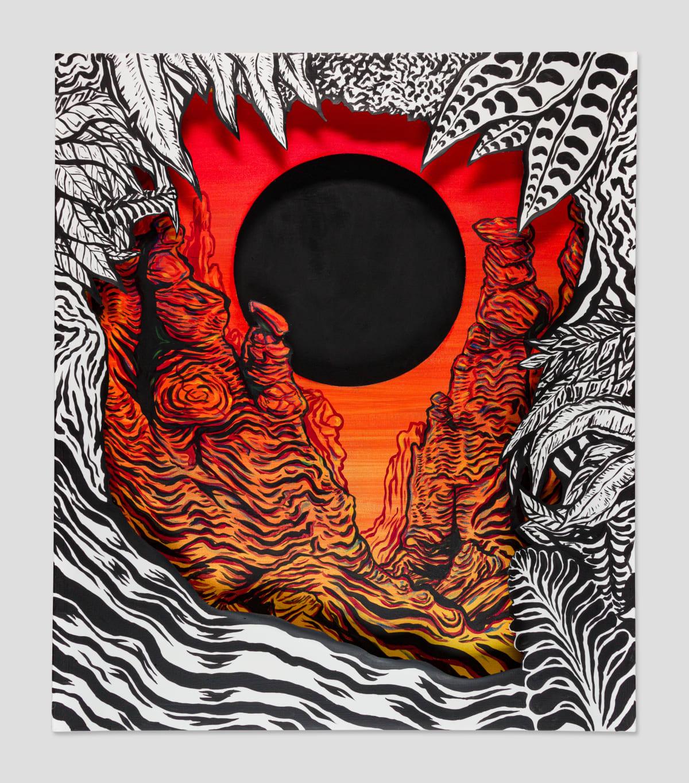 Todd Ryan White, Black Hole Labyrinth, 2019