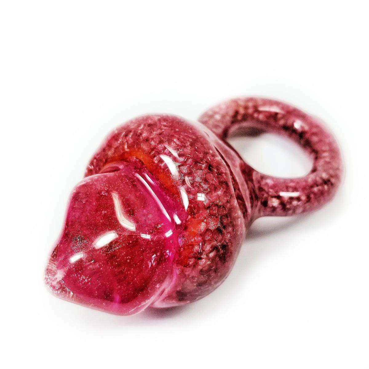 Jillian Moore, Pink Crusted Ring with Pink Gemmer