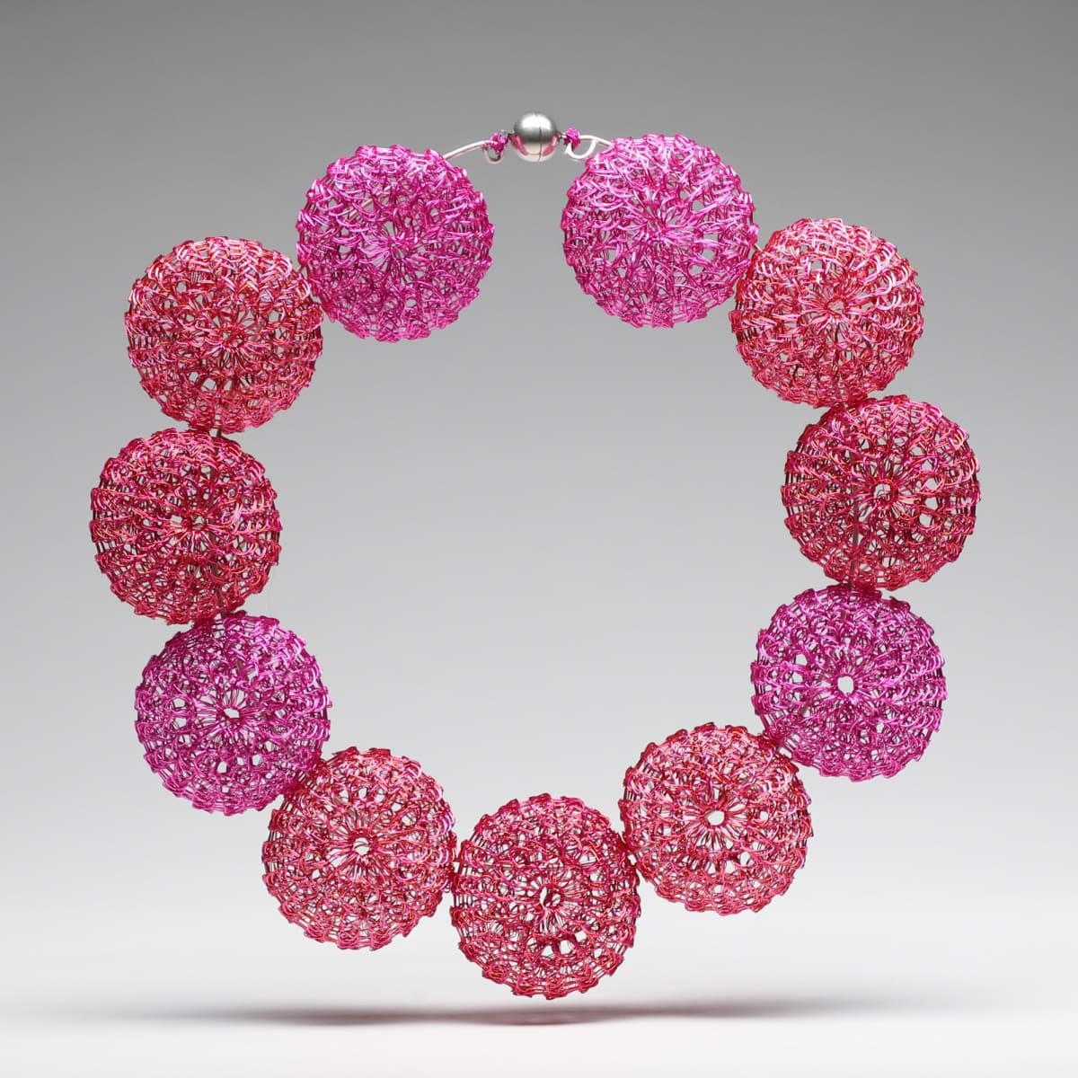 Arline Fisch, Knitted Round Beads, 2017