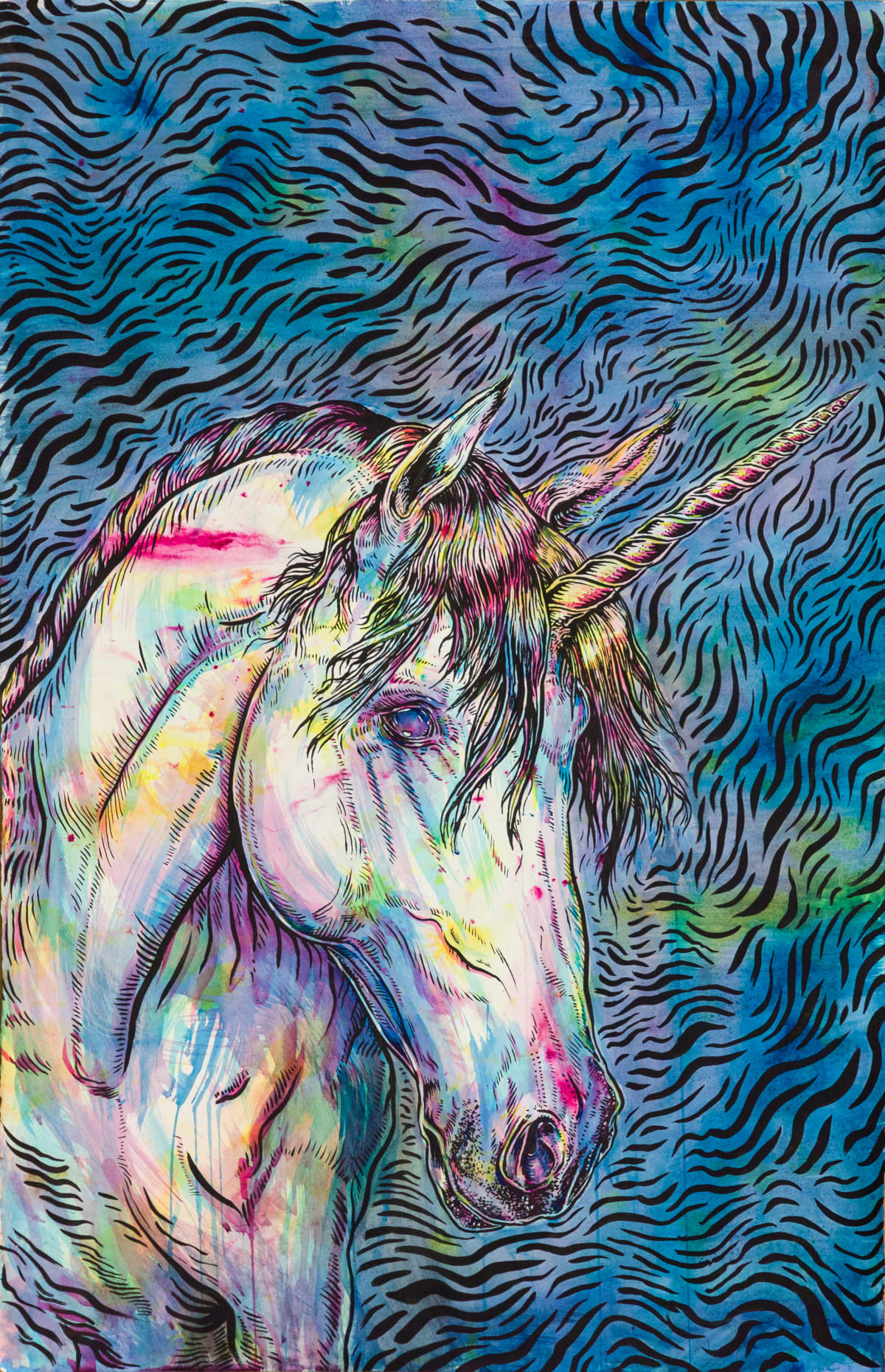 Todd Ryan White, Indrik: Unicorn, 2019