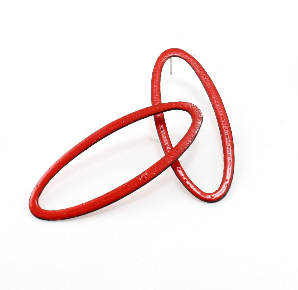 Kat Cole, Open Ovals (Red)