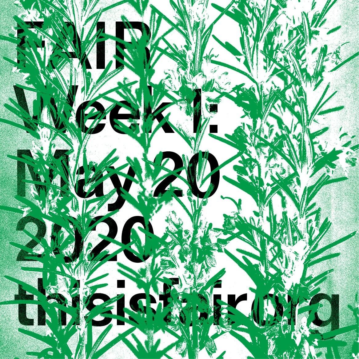 FAIR Week 1: May 20, 2020