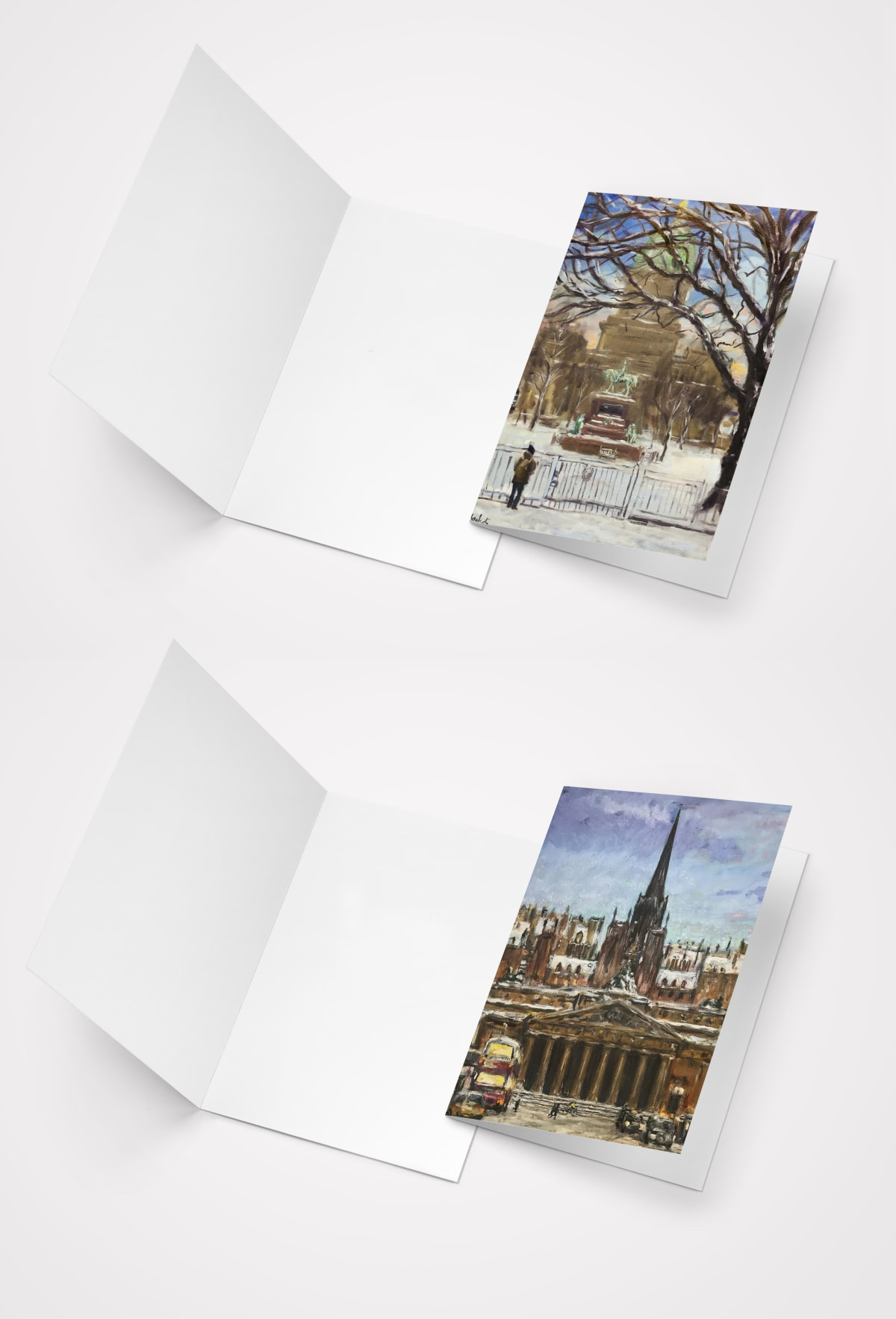 RSA Friends Christmas Card - Blank