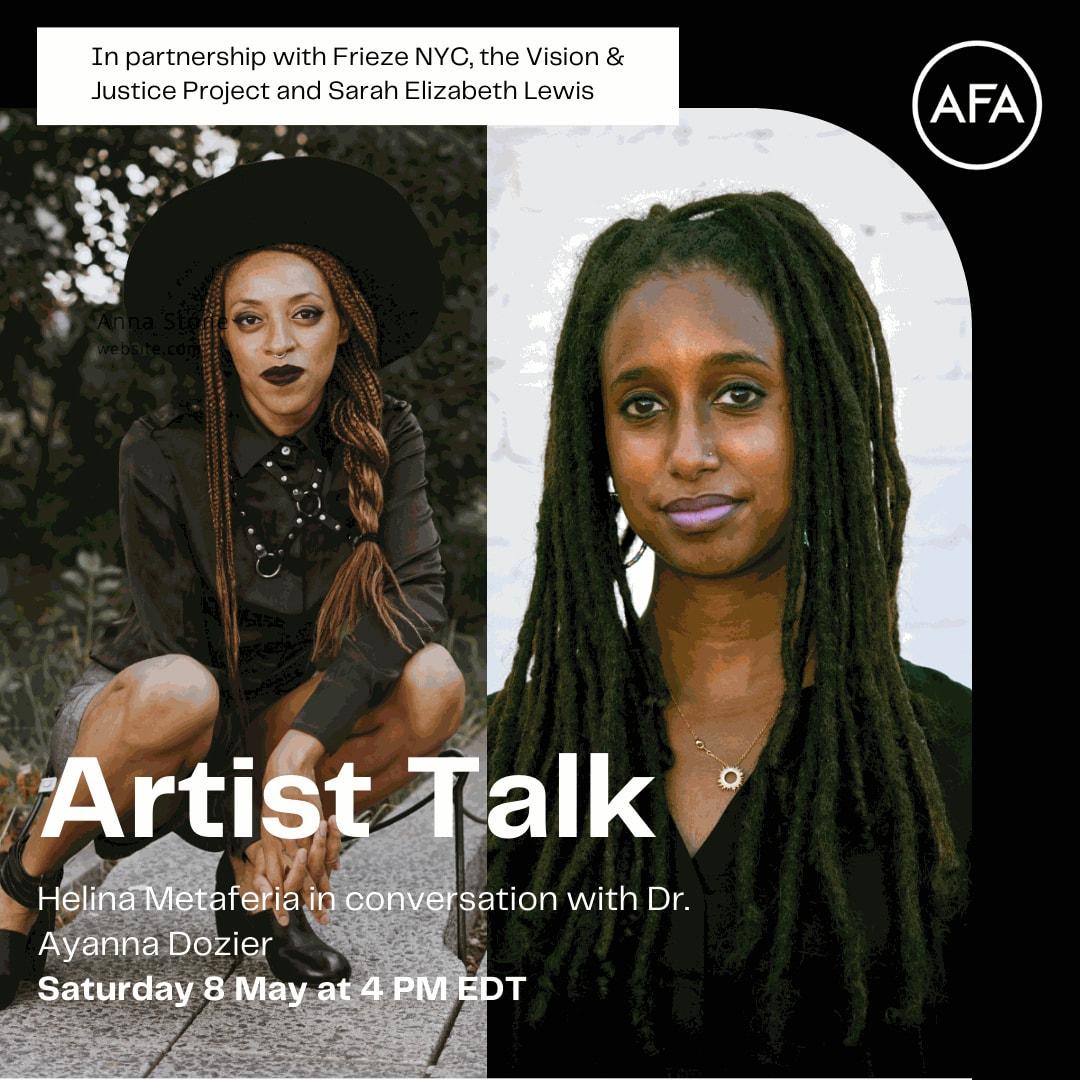 Artist Talk: Helina Metaferia in conversation with Dr. Ayanna Dozier