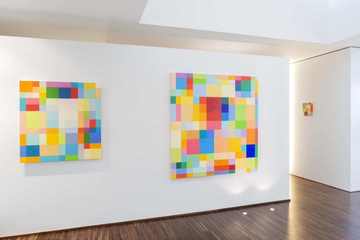 """Georges Meurant - Transfigurations"" Installation view at Aeroplastics (Maison Henoul), 2019"