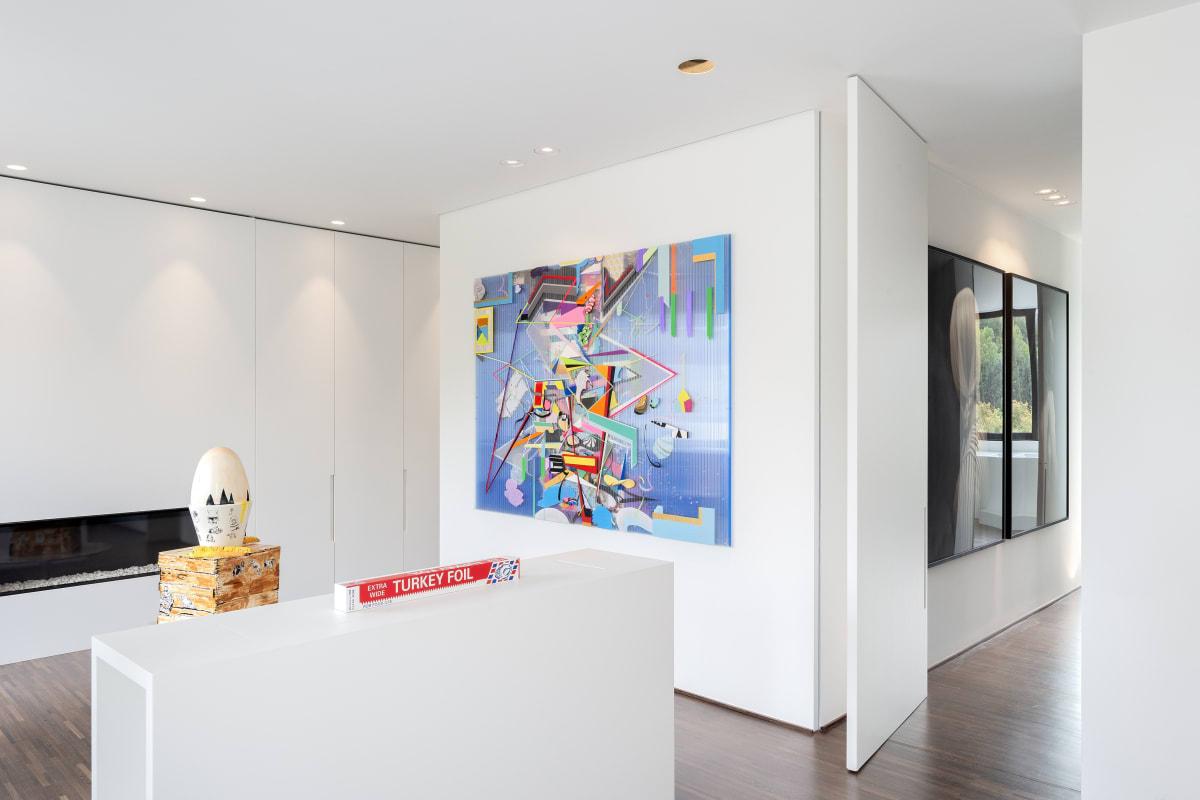 Artworks by Danny Rolph - Lamarche-Ovize - Gavin Turk Hugo Alonso