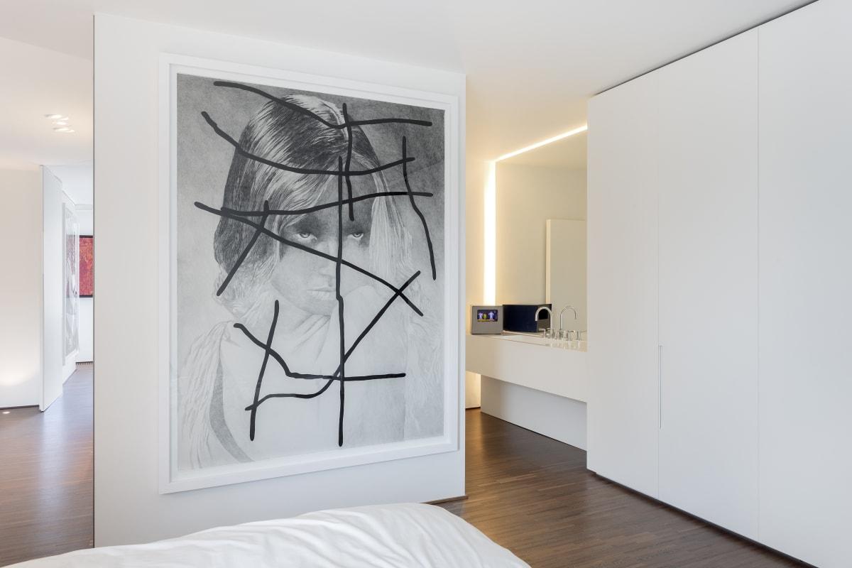 Artworks by Myriam Mechita - Pierrick Sorin - Houston Maludi