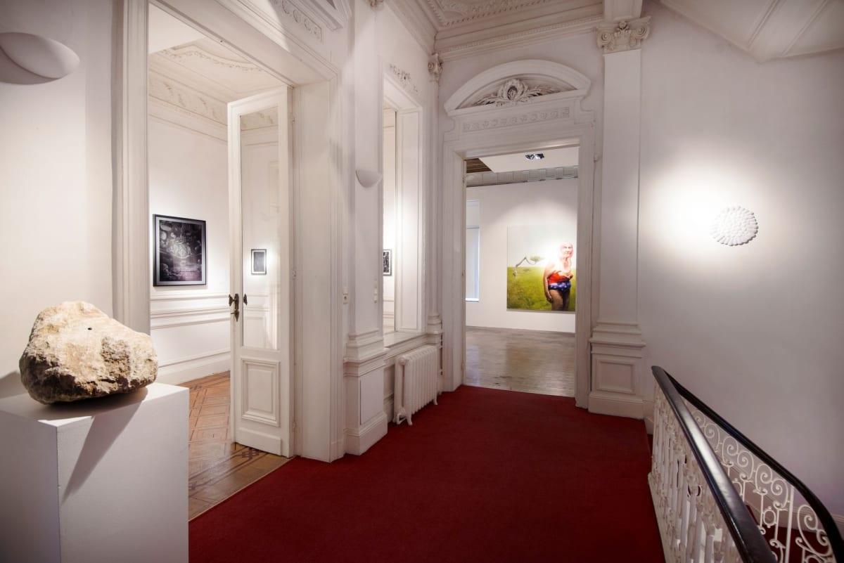 """Prememories"" Installation view at Aeroplastics, 2016"