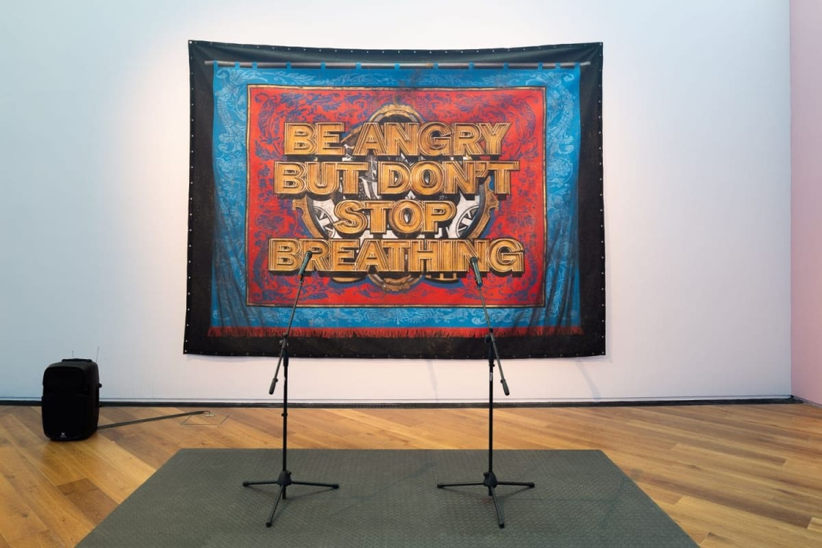 Mark Titchner: Some questions about us