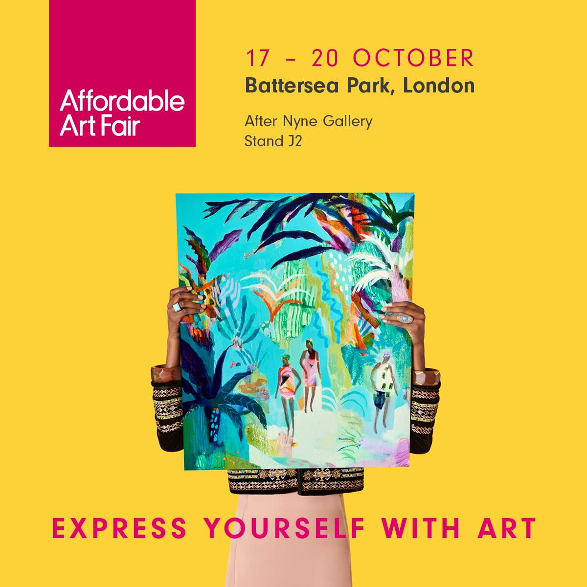 After Nyne Gallery at Affordable Art Fair 2019, Battersea