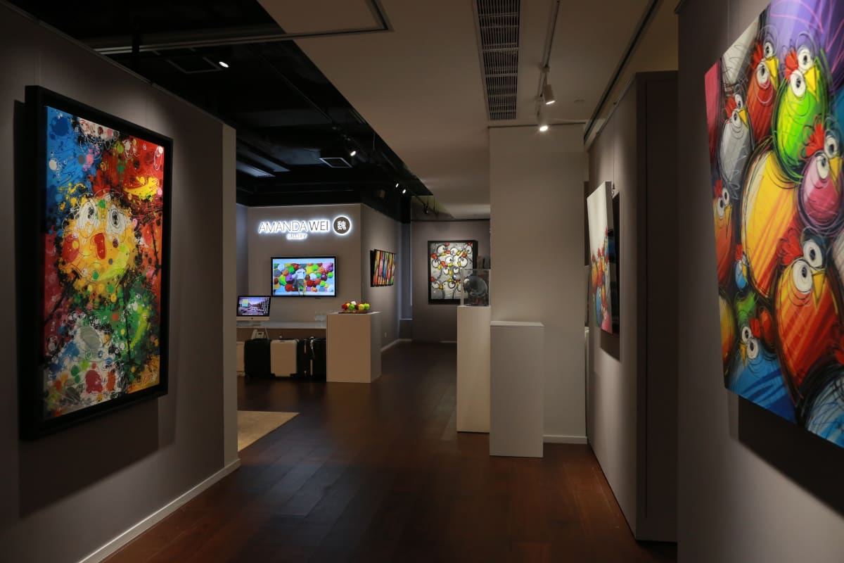 Ceet Fly With Chicanos Solo Exhibition Eight