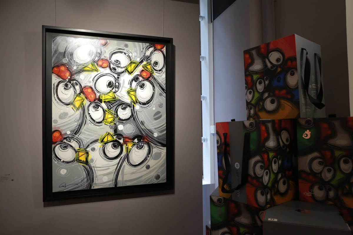 Ceet Fly With Chicanos Solo Exhibition One