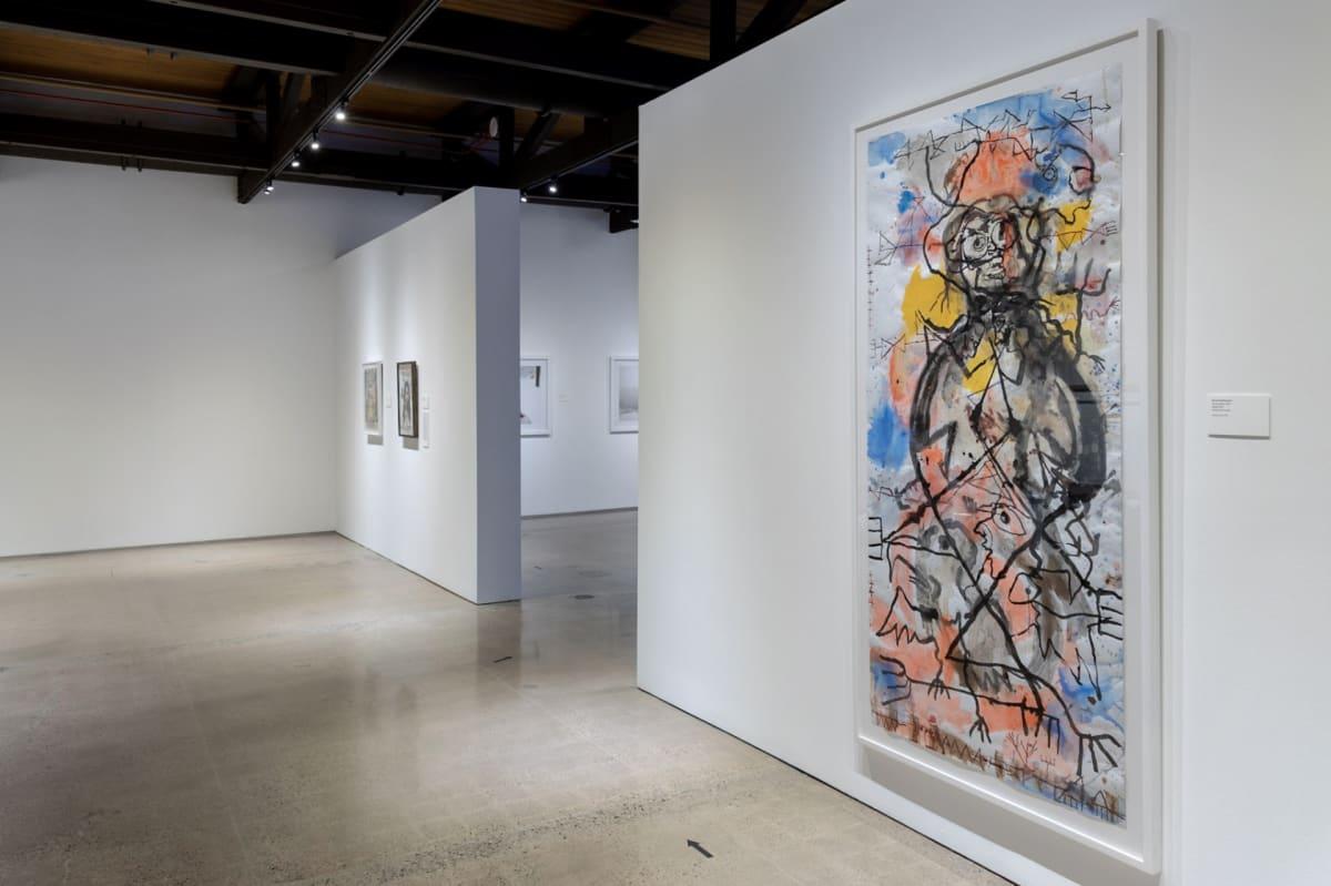 Brad Kahlhamer at Heard Museum, Phoenix, USA
