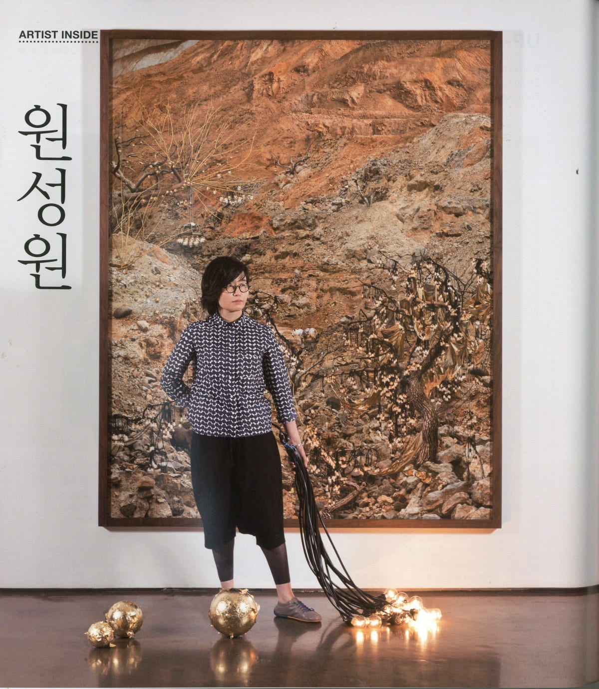 [Press_Art In Culture] WON Seoung Won: 'Encyclopedia' from Photo-Collages