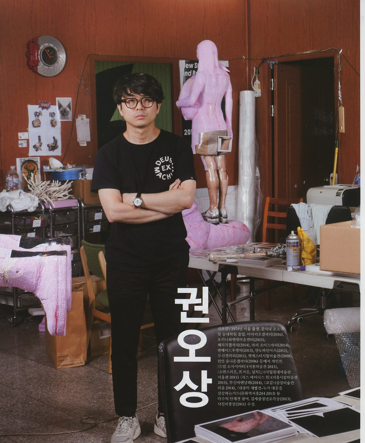 [Press_Art in Culture] GWON Osang: Variation Between the Plane and 3-Dimensional, Targeting the 'Sculptor'