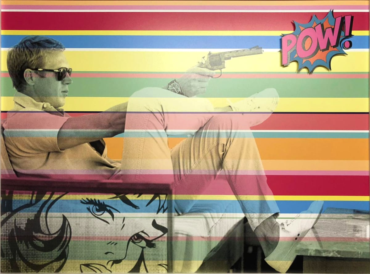 "Dan Pearce Title: Paul POW Size: 39"" x 29"" Price: £1,500 (Framed)"