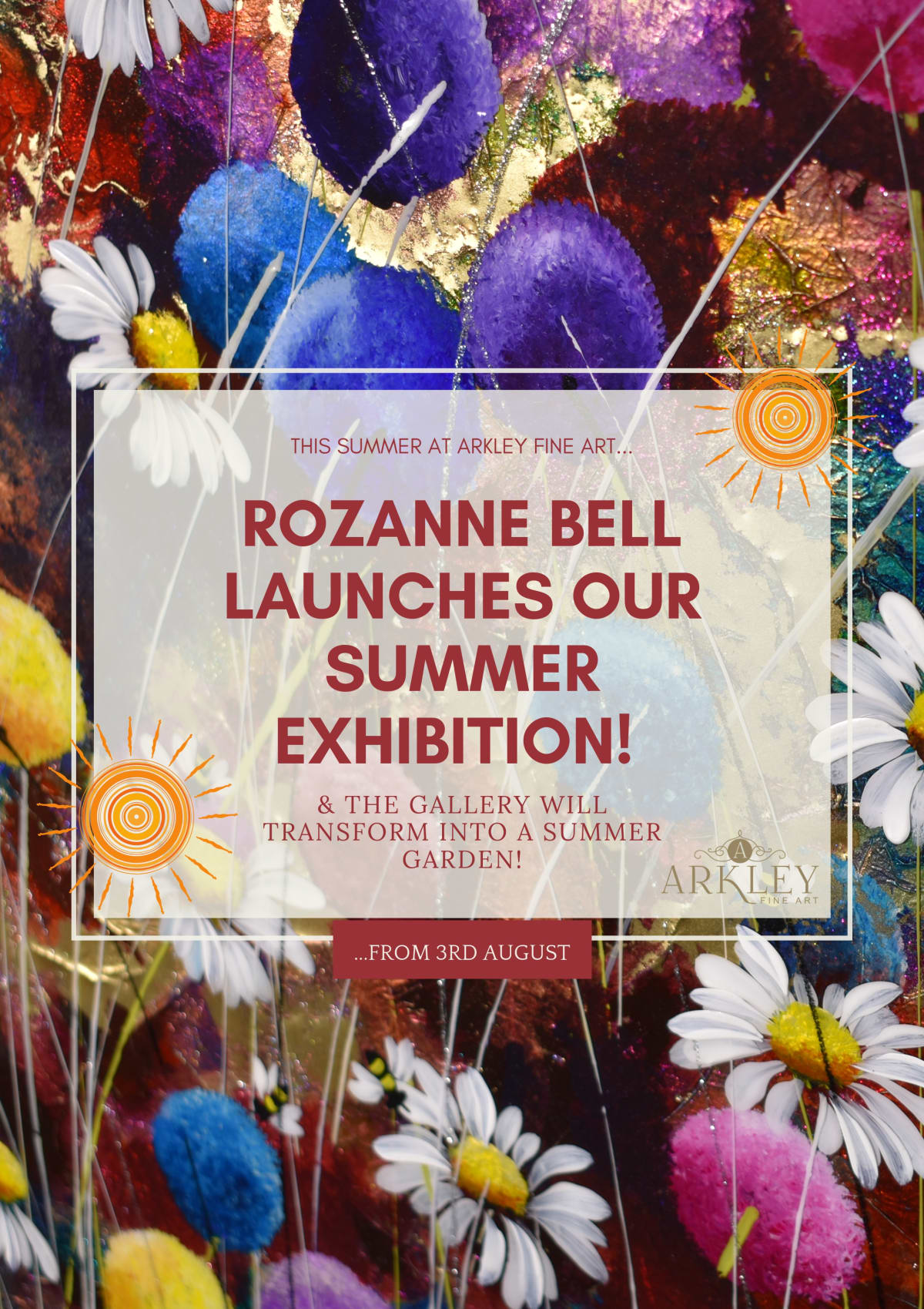 Rozanne Bell launches our Summer Exhibition