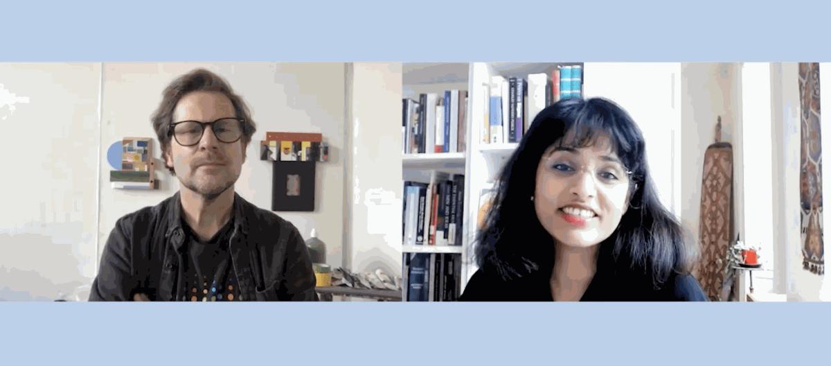 Laurence Noga interviewed by Kamini Vellodi