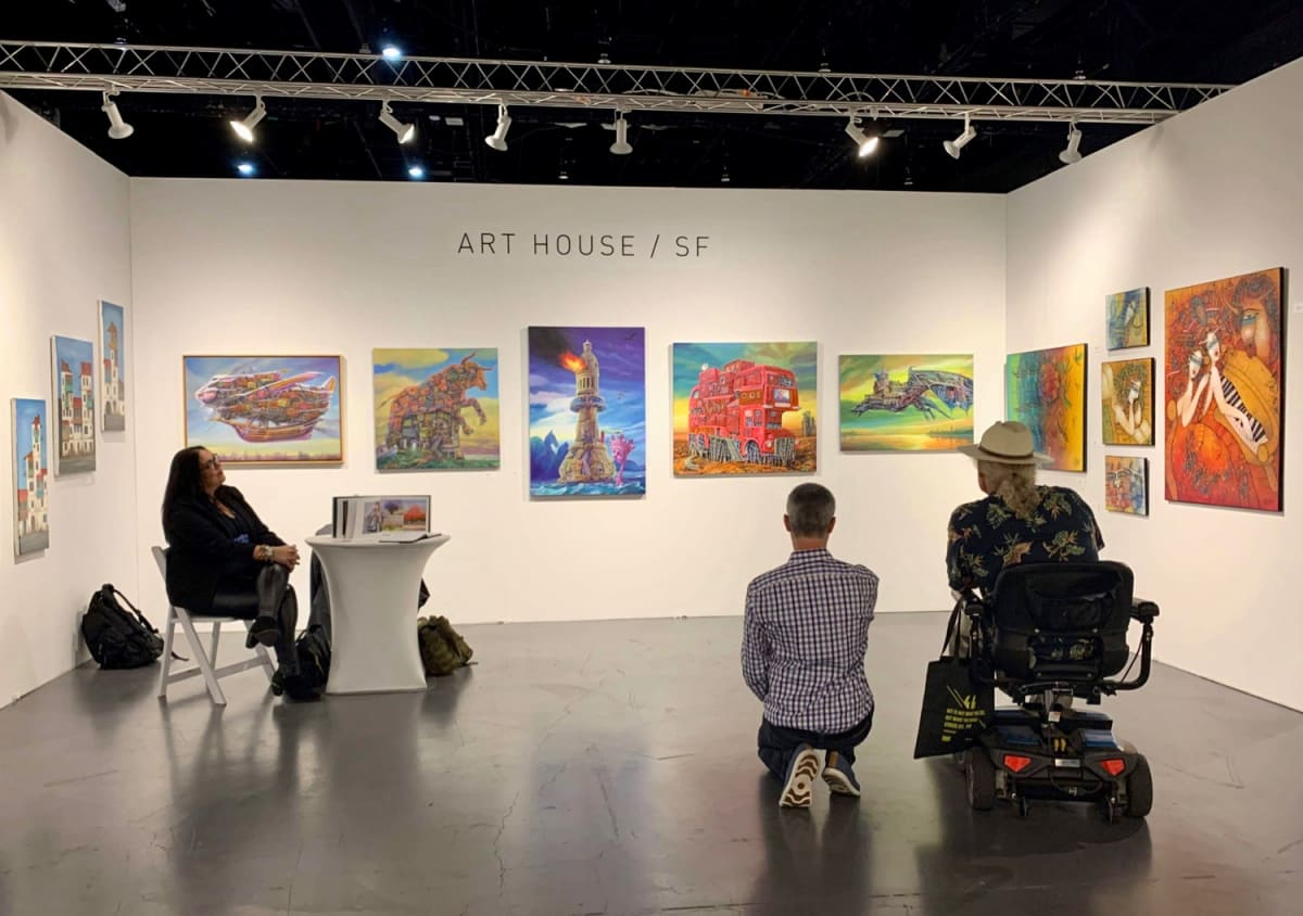 Art San Diego 2019, Out first major Art Show