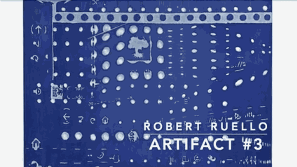 """Robert Ruello on """"Artifact #3"""", acquired by the City of Houston"""