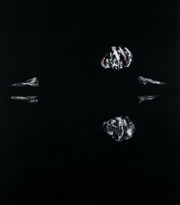 Lorenzo Puglisi Narcissus, 2018 Oil on board. 108 x 95 x 5 cm 42.5 x 37.4 x 2 in