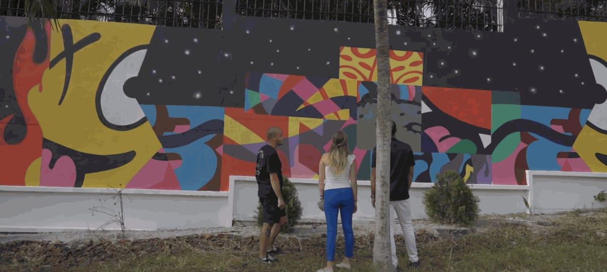 """""""POP ART"""" - Barnabe, Chloe, Kadarik & Woleck"""