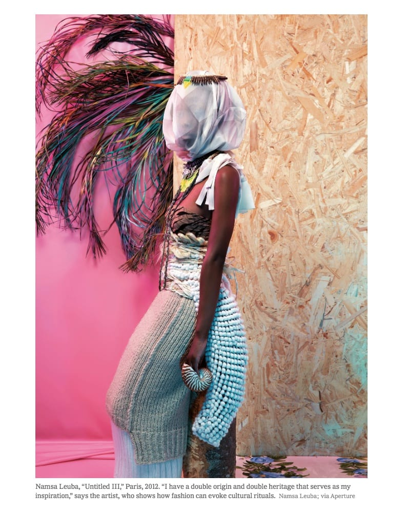 """Namsa Leuba, """"Untitled III,"""" Paris, 2012."""