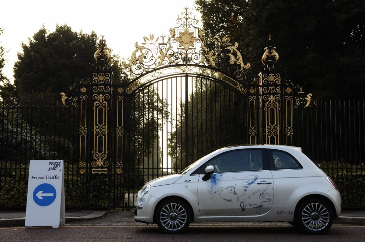 TRACEY EMIN, Fiat 500 Collectors Cars
