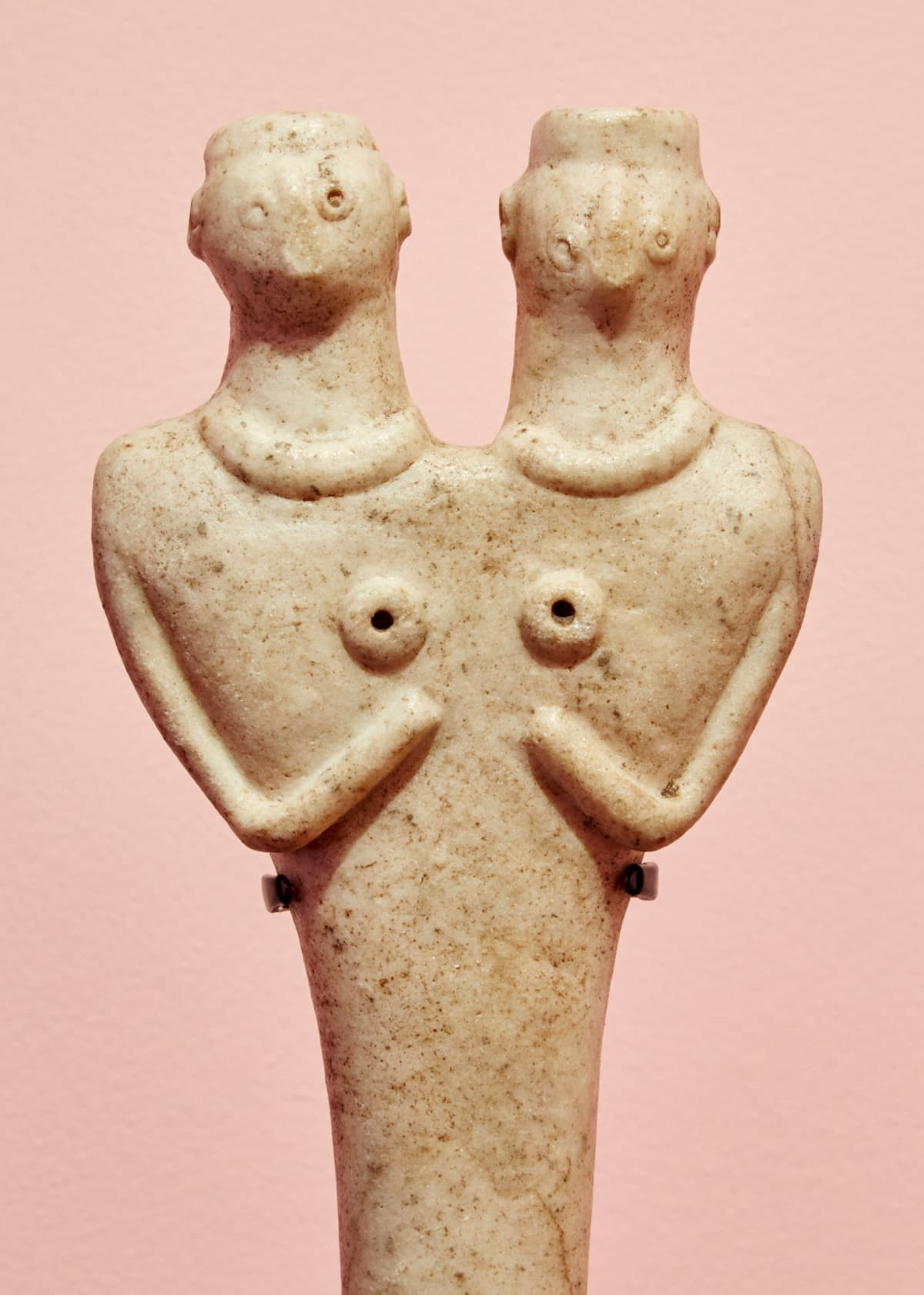 Detail Of Conjoined Syro Hittite Sculpture