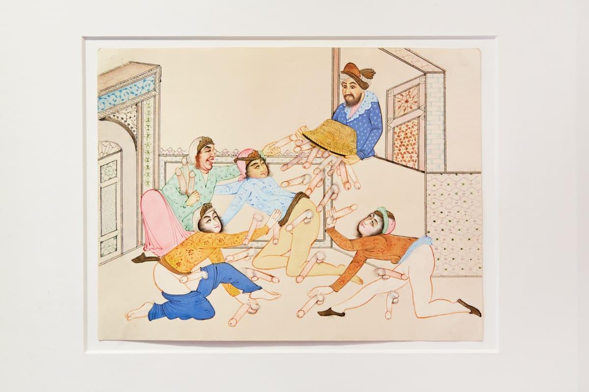 Detail Of Mughal Erotic Manuscript