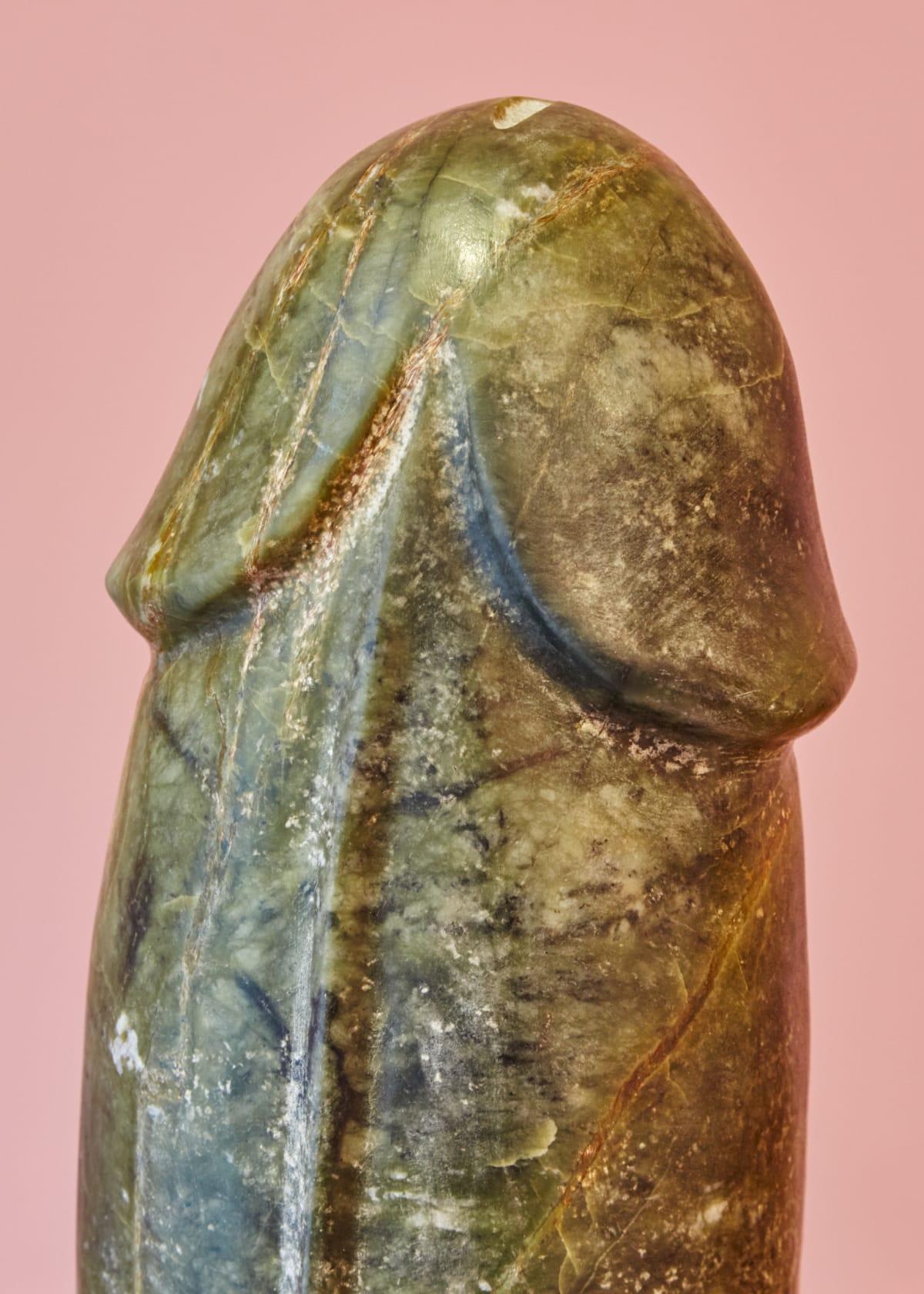 Detail Of Pre Columbian Phallus