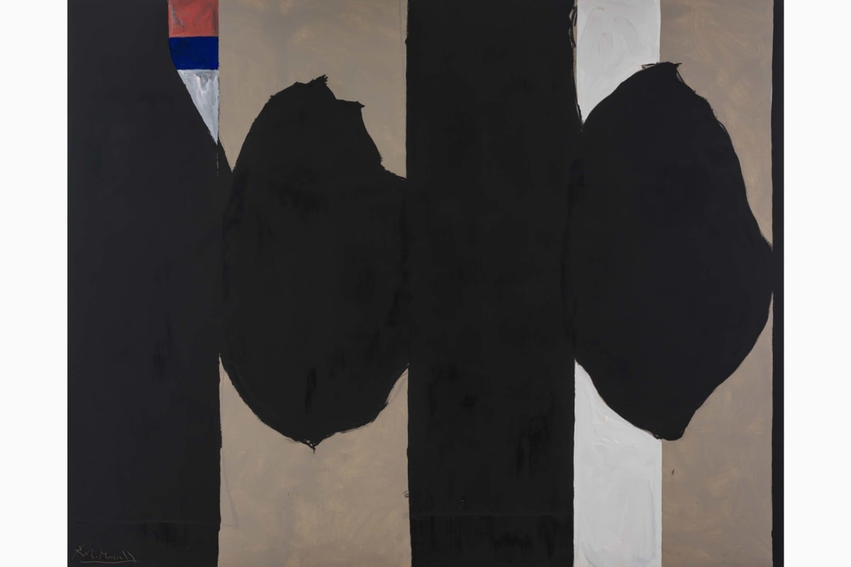 Robert Motherwell, Elergy at Barakat Contemporary