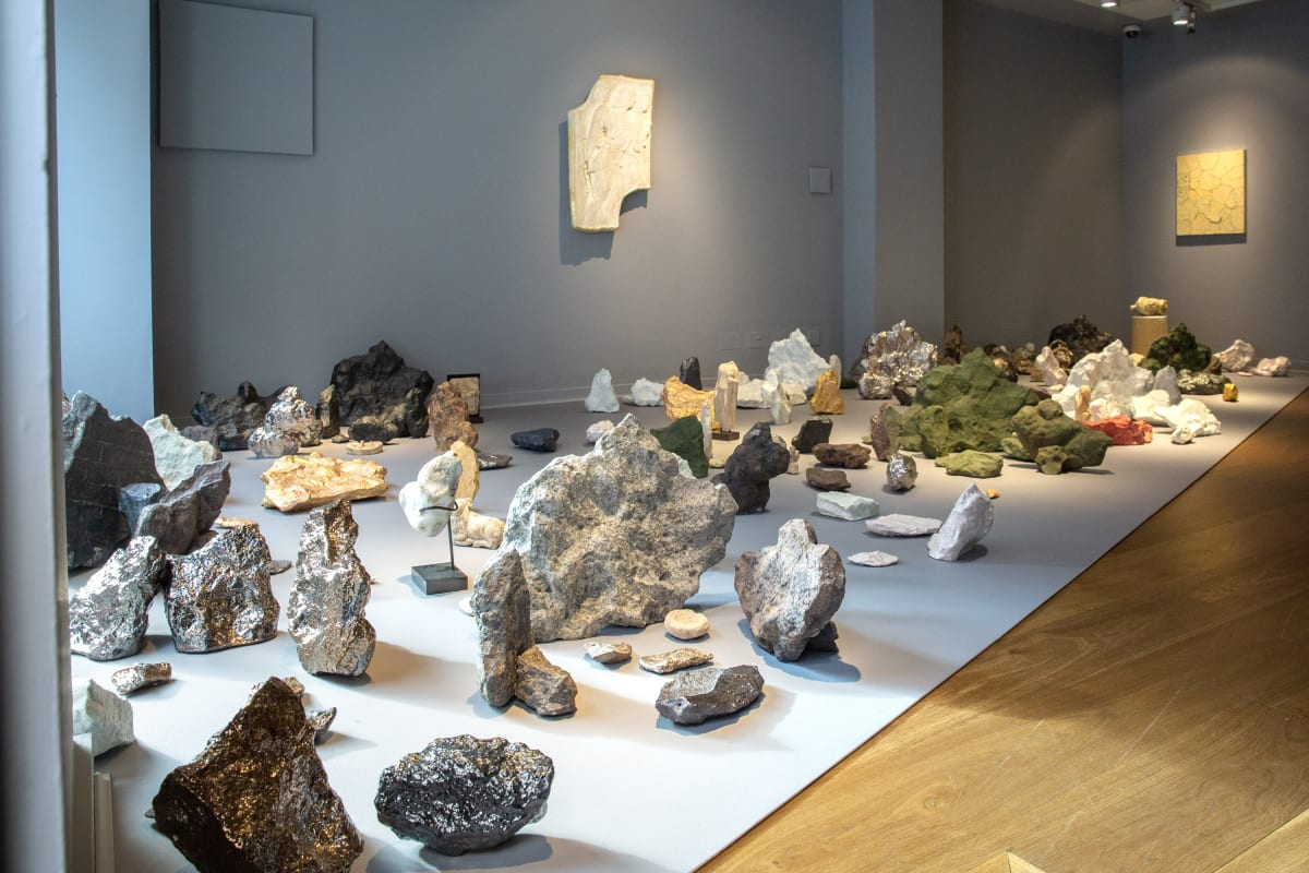 Meekyoung Shin, Megalith Series (Installation View), 2019