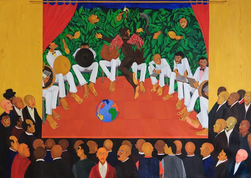 Richard Mudariki: Mubvakure (The one who comes from afar) at Galerie Polaris, Paris