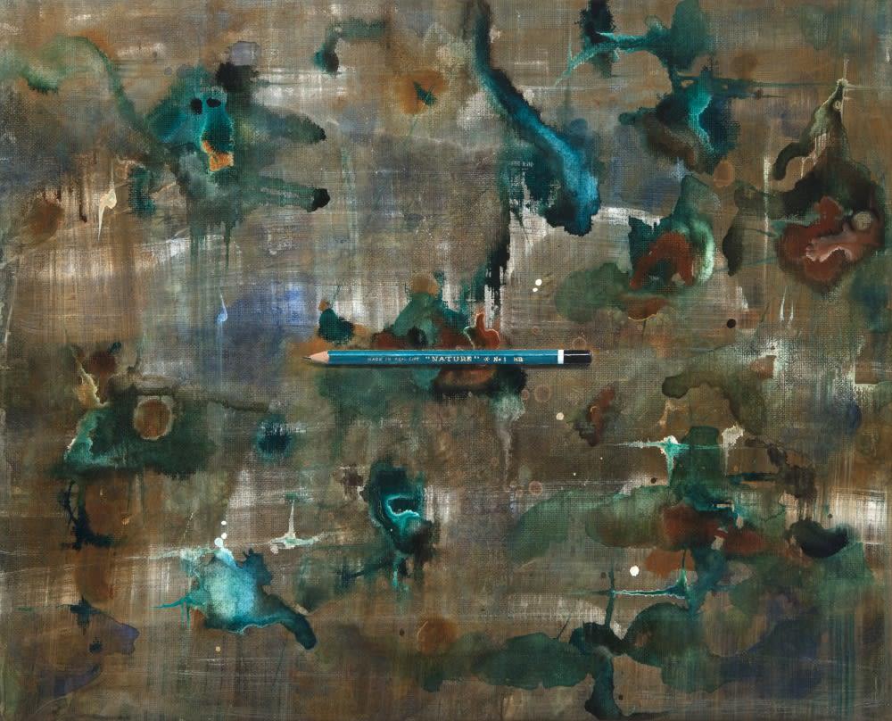 Nature | 2017 | acrylic on linen | 45 x 56 cm