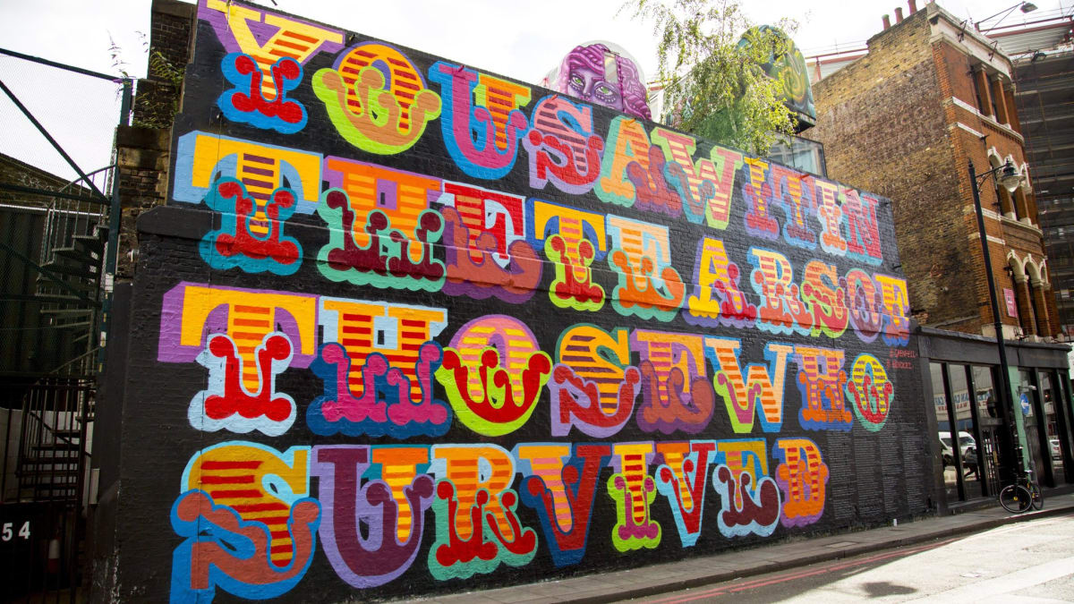 Shoreditch Mural Honours Grenfell Tower Victims