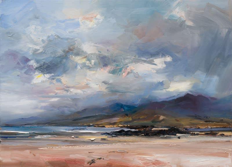 Early Morning, Cappagh Beach, Co. Kerry oil on canvas 80 x 110 cm