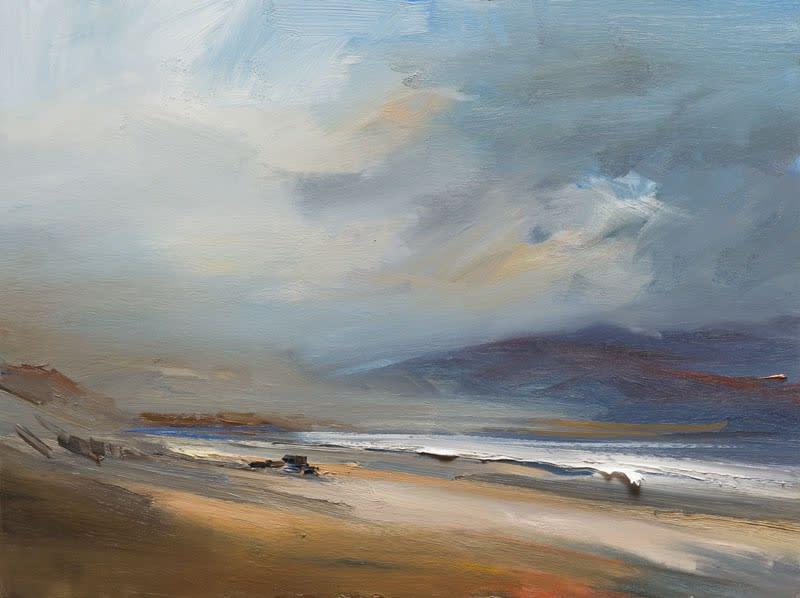 Clearing Skies, Kilshannig Beach, Co. Kerry oil on board 61 x 81 cm
