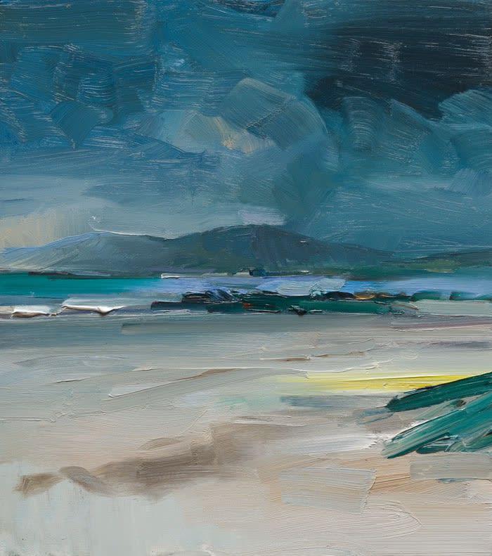 Cappagh Beach, Co. Kerry oil on board 46 x 40 cm