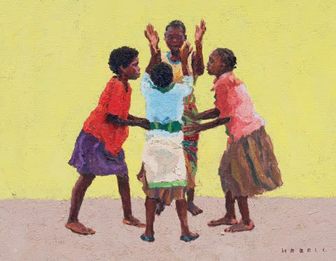 H R Bell - Paintings from three continents