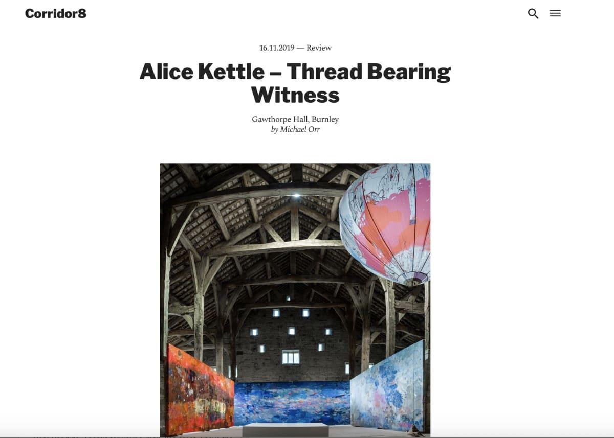Alice Kettle, Thread Bearing Witness