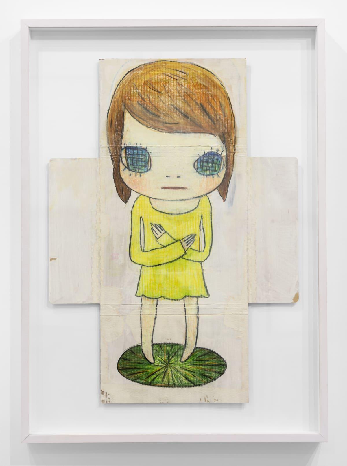 Yoshitomo Nara Untitled, 2011 Acrylic and color pencil on cardboard 30 1/8 x 21 7/8 in (76.5 x 55.5 cm) © YOSHITOMO NARA