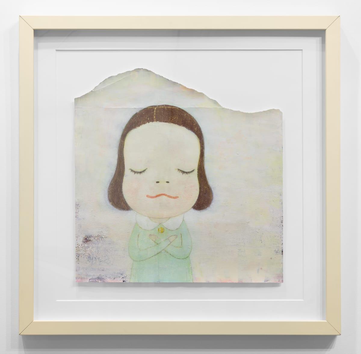 Yoshitomo Nara Untitled, 2000 Acrylic and color pencil on paper 17 1/2 x 16 7/8 in (44.5 x 42.9 cm) © YOSHITOMO NARA