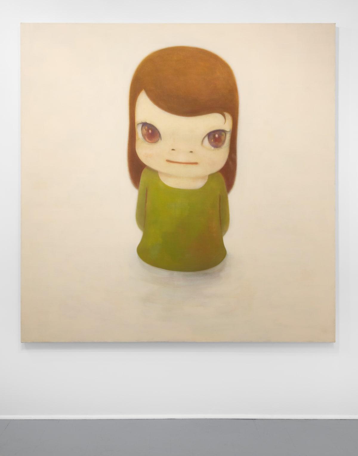 Yoshitomo Nara In the Milky Lake, 2012 Acrylic on canvas 77 1/2 x 76 3/8 in (196.8 x 194 cm) © YOSHITOMO NARA