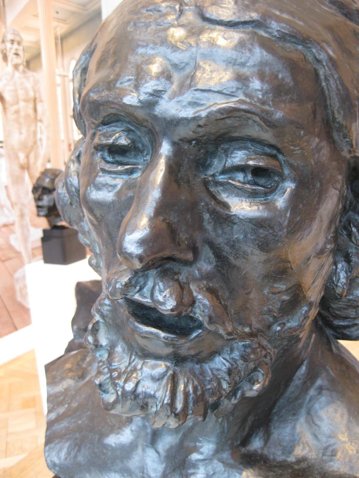 Saint-Jean-Baptiste, tête colossale by Auguste Rodin, Original Sculpture at Coskun Fine Art
