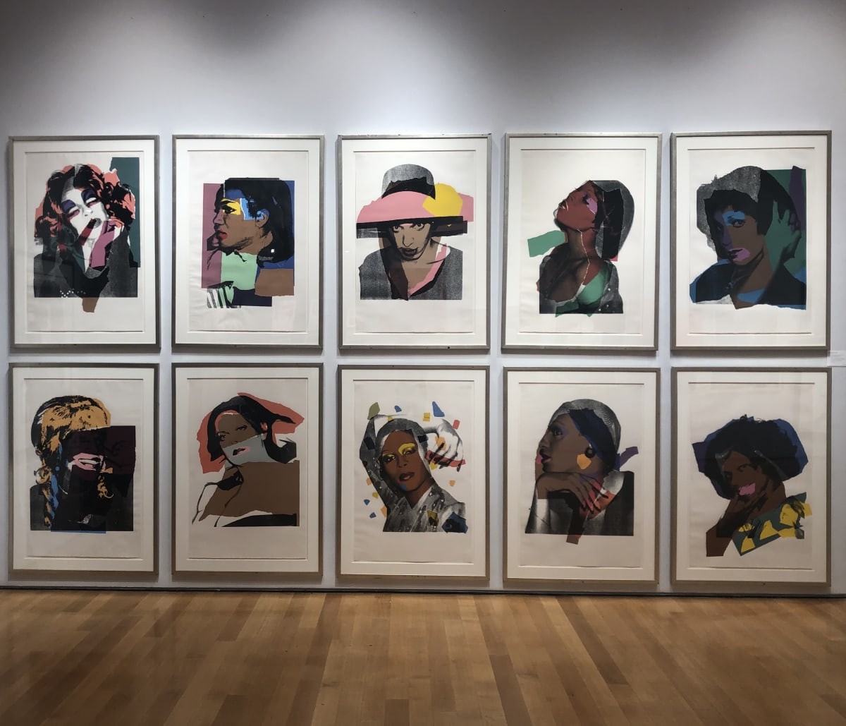 Ladies and Gentlemen II.128 - II.137, 1975, by Andy Warhol, Portfolio of Ten Screenprints, edition 125 at Coskun Fine Art