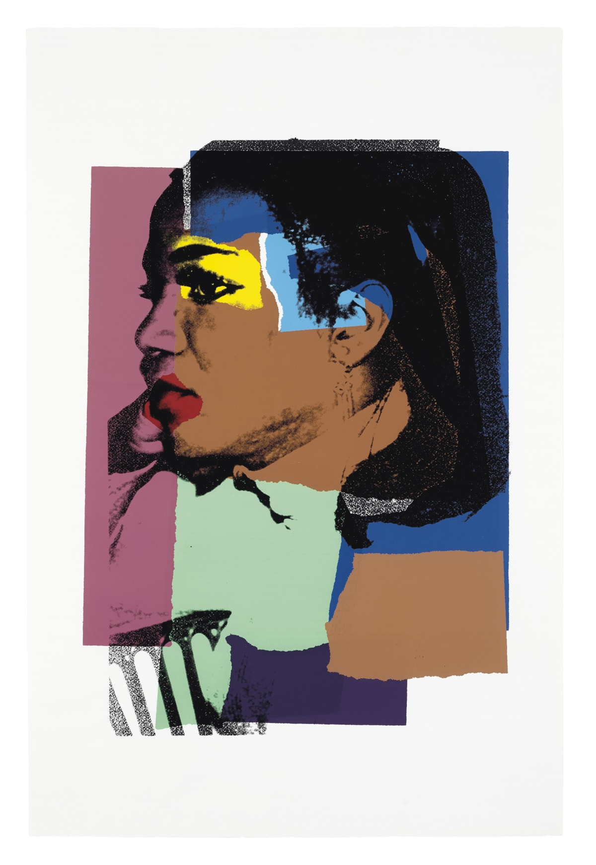 Ladies and Gentlemen, II.129, 1975, by Andy Warhol, Portfolio of Ten Screenprints from an edition of 125, at Coskun Fine Art