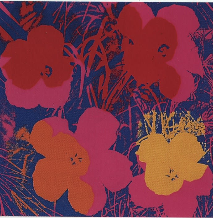 Flowers, II.66, 1970, by Andy Warhol, from the Portfolio of Ten Screenprints from an edition of 250, at Coskun Fine Art