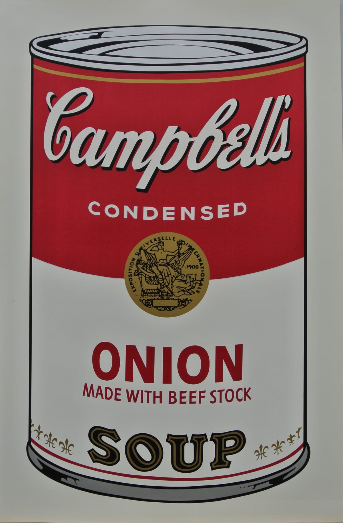 Andy Warhol , Campbell's Soup I: Onion Soup, 1968