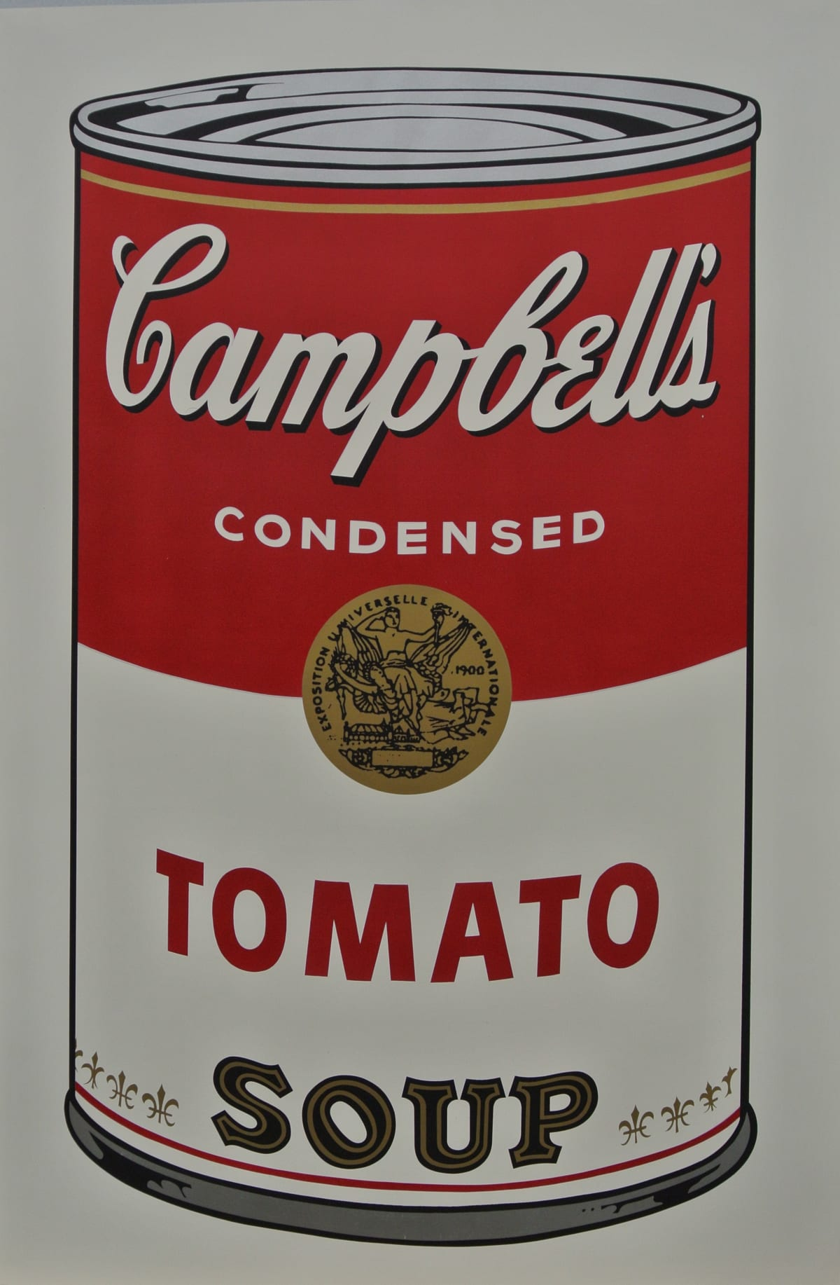 Andy Warhol , Campbell's Soup I: Tomato Soup, 1968
